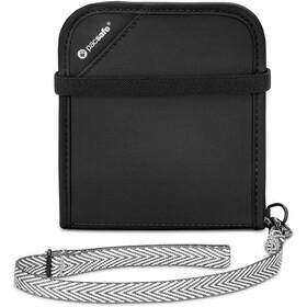 Pacsafe RFIDsafe V100 Bi-Fold Wallet Black
